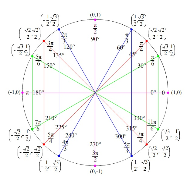 Worksheet Unit Circle Worksheet math 7ab unit circle